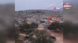 Türk Silahlı Kuvvetleri Konvoyu'nu gören Suriyeli vatandaşın gözleri yaşartan sevinci Artık göç etmeyeceğiz