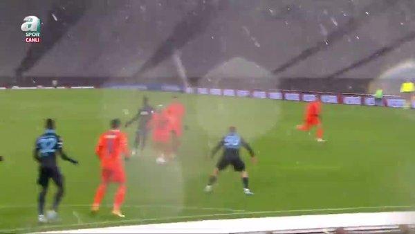 İşte Başakşehir'in Trabzonspor karşısında penaltı kazandığı pozisyon