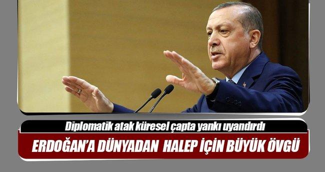 Türkiye'nin çabasına dünyadan övgü