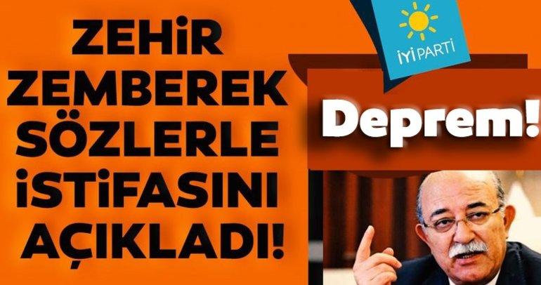 Son dakika: İYİ Parti'de deprem! İsmail Koncuk zehir zemberek sözlerle istifasını açıkladı