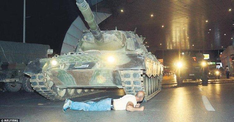 'Kılıçdaroğlu, önüne yattığım tanktan kaçtı'
