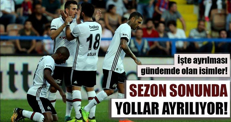Sezon sonu Süper Lig'de yaprak dökümü!