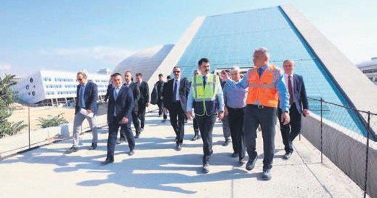 Ersoy ve Kurum yeni CSO binası inşaatını inceledi