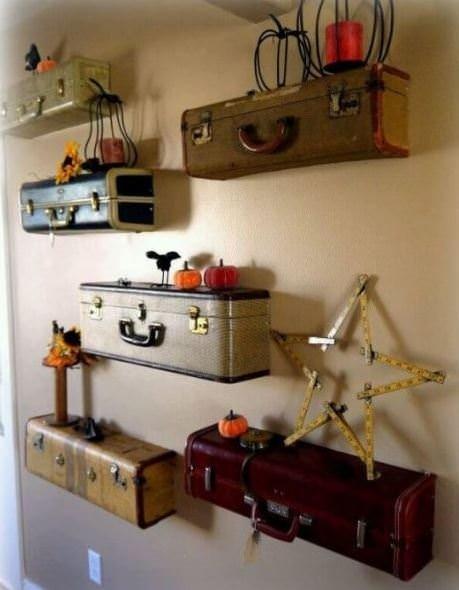 Eski bavullarınızı değerlendirin!