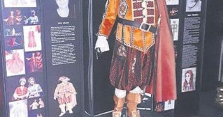 Devlet Tiyatrosu'ndan kostüm sergisi