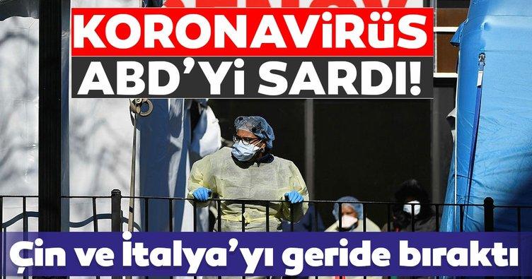 Son Dakika Haberleri: ABD corona virüs vakalarında dünyada ilk sıraya yerleşti