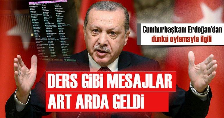 Cumhurbaşkanı Erdoğan'dan AK Parti İl Başkanları'nda dünyaya ders niteliğinde mesajlar