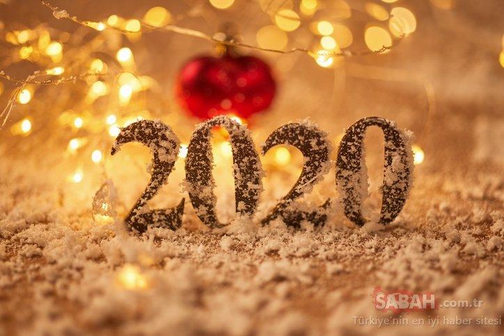 Yeni yıl kutlama ve tebrik mesajları! 2020 Resimli Yılbaşı mesajları ve sözleri ile sevdiklerine güzel dilekler ilet