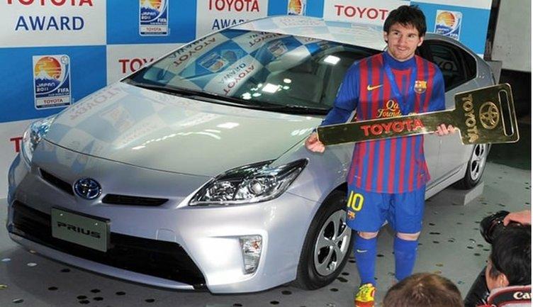 Messi'nin otomobil koleksiyonu
