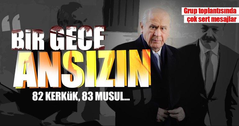 Bahçeli'den son dakika açıklaması: Bir gece ansızın gelmek Türk Milleti için zor değildir