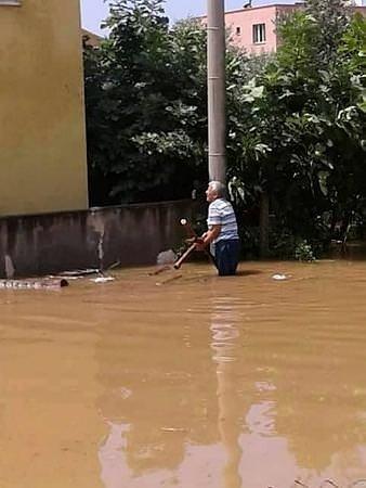 İskenderun sular altında kaldı