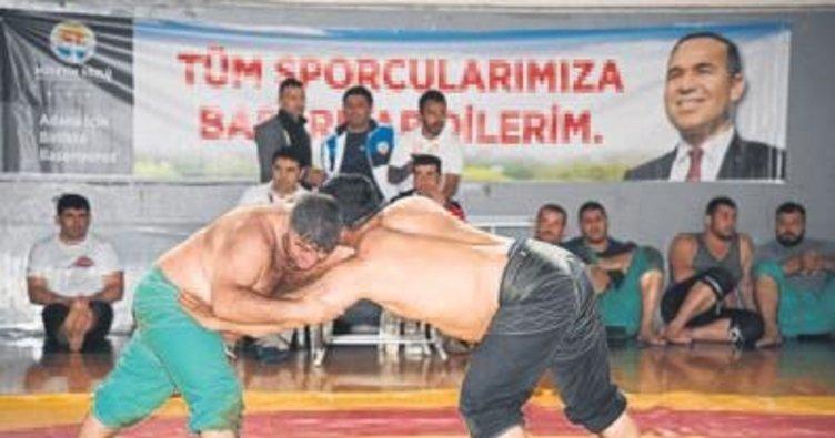 Karakucak'ta pehlivanlar yarıştı