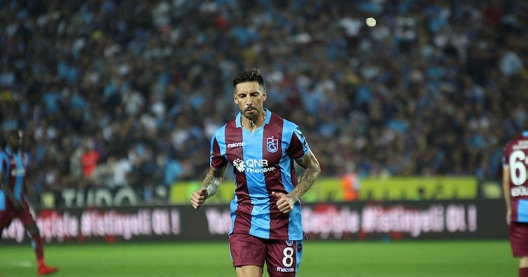 Trabzonspor'un yeni ikinci kaptanı Sosa