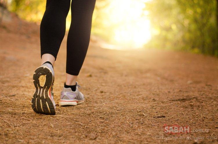 Yürüyüş yapmanın faydaları nelerdir? İşte yürüyüş yapmanın 5 şaşırtıcı faydası...