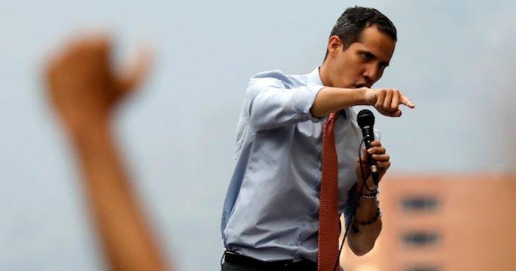 Muhalif Guaido başkanlık ofisine göz dikti