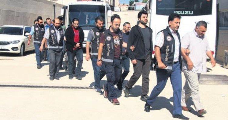 33 gözaltı 33 tutuklama