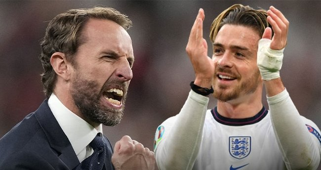 İngiltere finale çıkmasına rağmen Southgate yerden yere vuruldu! Utanç verici Grealish kararı