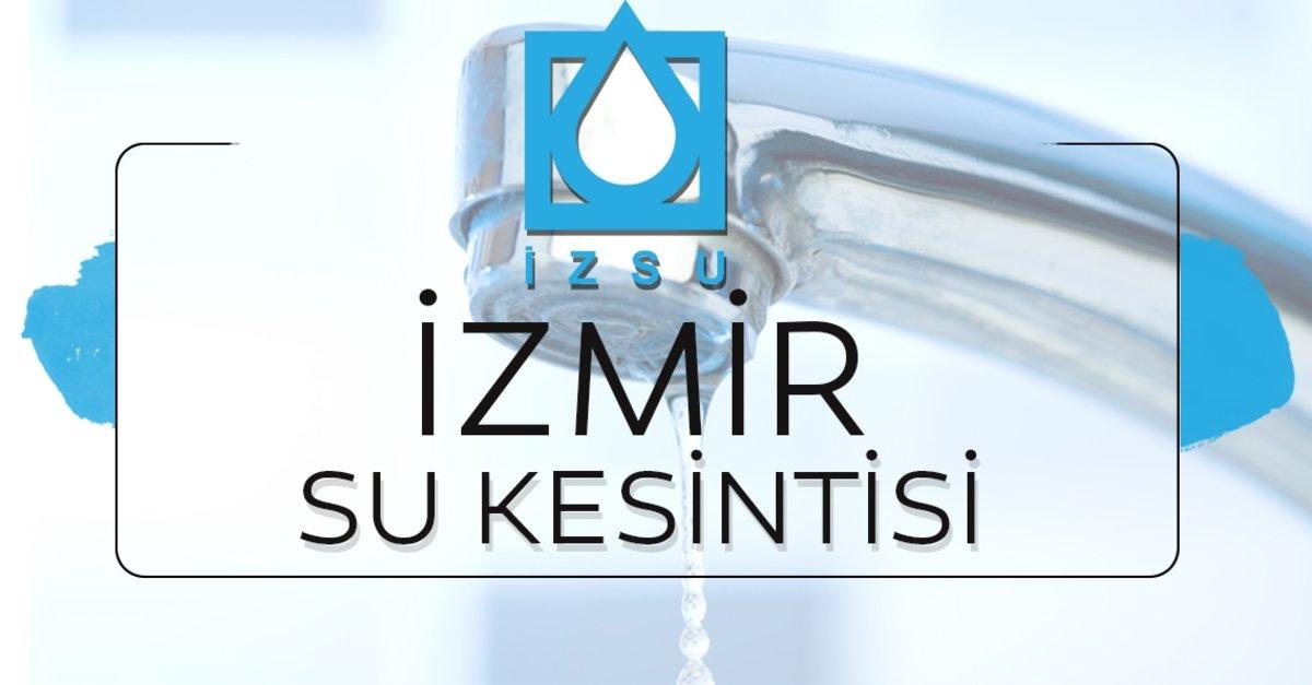 İzmir'de su kesintisi devam ediyor! 24 Aralık İZSU İzmir'de sular ne zaman  gelecek? Yetkili mercilerden açıklama - Su Kesintisi Haberleri