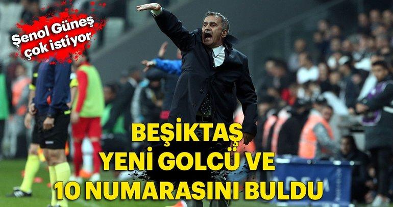 Beşiktaş yeni golcü ve 10 numarasını buldu