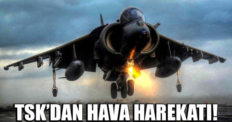 TSK: Kuzey Irak'taki terör hedeflerine hava harekatı düzenlendi ile ilgili görsel sonucu