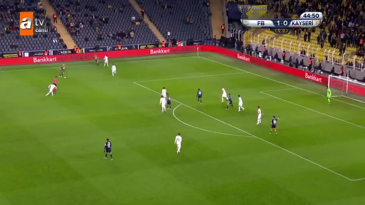 Fenerbahçe 2-0 Kayserispor