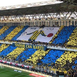 Fenerbahçe - Galatasaray derbisinde Can Bartu unutulmadı