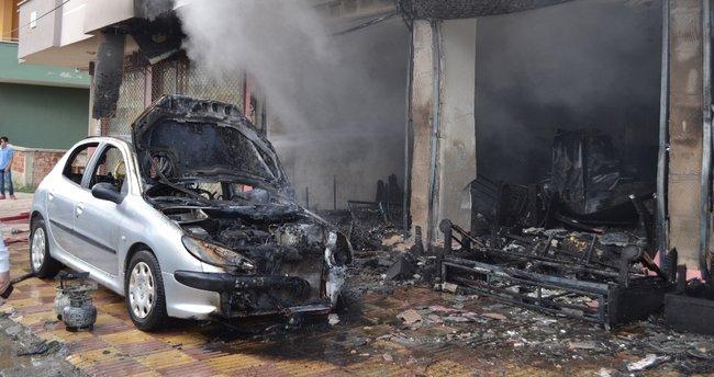 Elbistan'da iş yerinde patlama