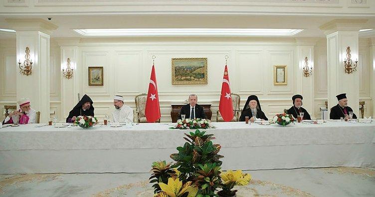 Başkan Erdoğan: Burası sizin de ülkeniz gelip sahip çıkın