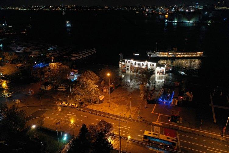 Kadıköy, Taksim ve Üsküdar'da meydanlar sessizliğe büründü! Sokağa çıkma kısıtlaması ne zaman bitecek?