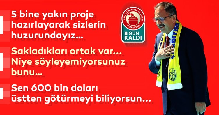 Cumhur İttifakı'nın Ankara Büyükşehir Belediye Başkan adayı Mehmet Özhaseki'den önemli mesajlar!