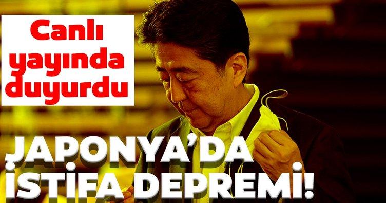 Son dakika haberi: Japonya Başbakanı Shinzo  Abe  istifa etti