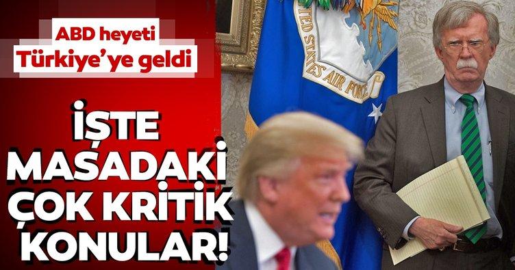 Son Dakika: ABD heyeti Ankara'da