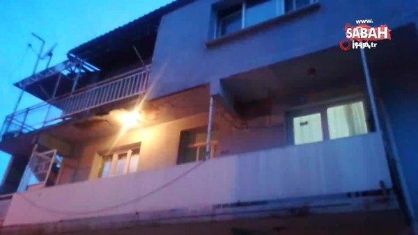 İzmir'de dehşet! 70 yaşındaki karısını baltayla ağır yaraladı | Video