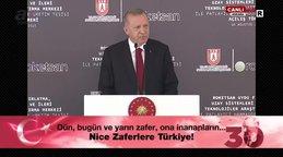 Son dakika| CumhurbaşkanıErdoğan'dan 'RoketsanUzay Sistemleri Merkezi' açılış töreninde önemli açıklamalar