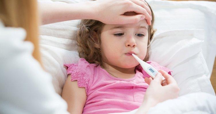 Çocuklarda kışın en sık görülen hastalıklar bakın...