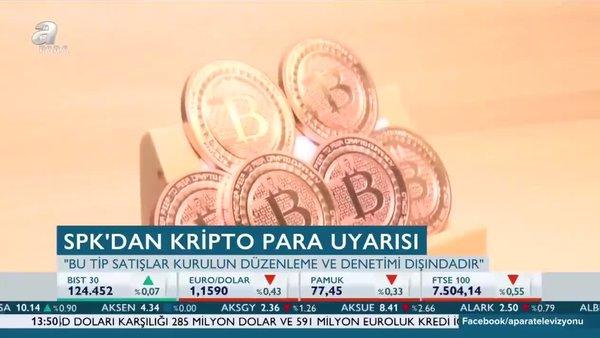 SPK'dan 'Kripto Para' uyarısı!