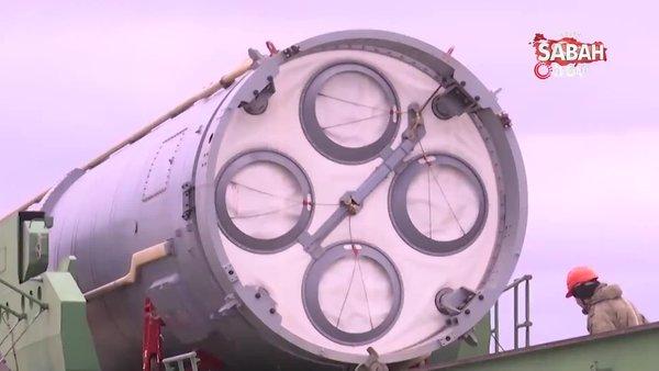 Rusya, Avangard balistik füzesini aktif hale getirdi | Video