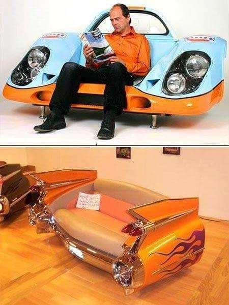 Otomobil parçalarından müthiş ürünler