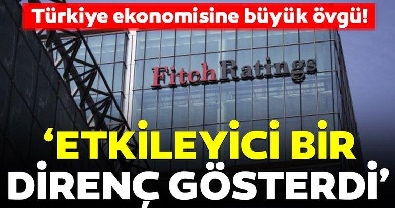 Fitch'ten Türkiye ekonomisi için büyük övgü!