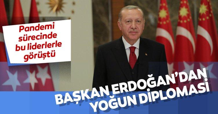 Başkan Erdoğan'dan yoğun diplomasi