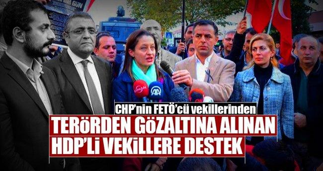 CHP'nin FETÖ'cü vekillerinden HDP'ye destek