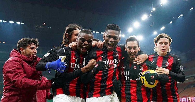Hakan Çalhanoğlu attı Milan turladı