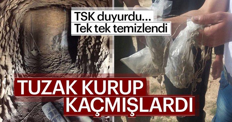 Son dakika Haberi: TSK duyurdu... PKK'lı teröristlerin kaçarken bıraktığı tuzakların hepsi temizlendi