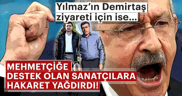 Kılıçdaroğlu askerimize moral veren ünlülere hakaretler yağdırdı