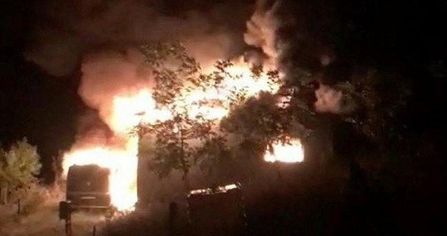 Sakarya'da yangın faciası! Baba ve 3 çocuğu hayatını kaybetti