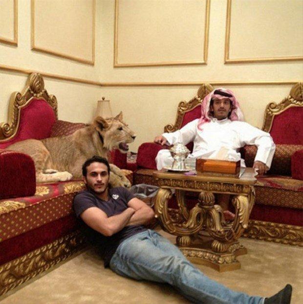 Arap milyonerler neler yaptı neler!