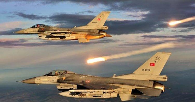 Son dakika: Irak'ın kuzeyine hava harekatı