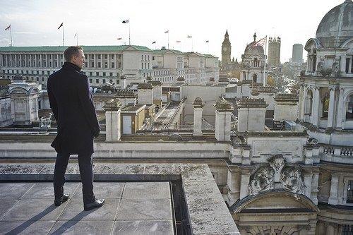 Skyfall 007 filminden kareler