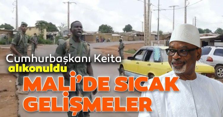 Mali'de Cumhurbaşkanı İbrahim Boubacar Keita alıkonuldu