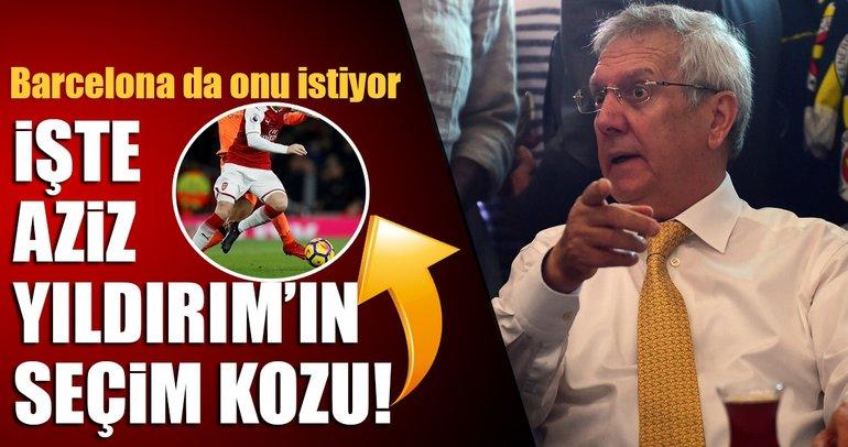 Aziz Yıldırım'ın seçim kozu Mesut Özil!